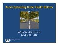 Slides - Washington State Hospital Association