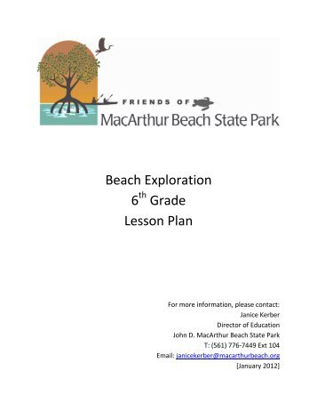 Beach Exploration - John D. MacArthur Beach State Park