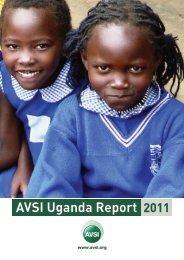AVSI Uganda Annual Report 2011 - AVSI-USA