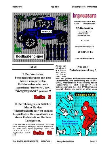 Restwert - RP-BOOK-Verlag