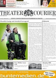 TheaterCourier - Ausgabe 12 - 03. Januar 2015