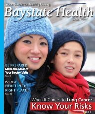 Winter 2011 - Baystate Health