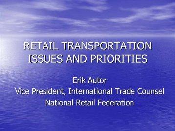 Erik Autor, VP & International Trade Council - The National Industrial ...