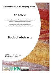 Book of Abstracts - INRA Montpellier