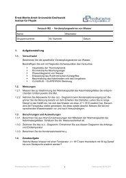 W2 - Ernst-Moritz-Arndt-Universität Greifswald