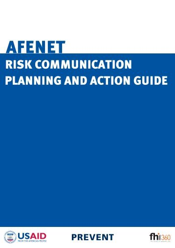 Risk Communication Planning and Action Guide