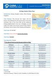 14 Days Scenic China Tour - Classical China Tours