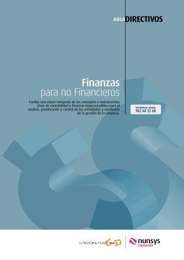 Finanzas para no Financieros - Portal del comerciante