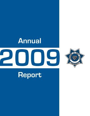 2009 DPS Annual Report - Arizona Department of Public Safety