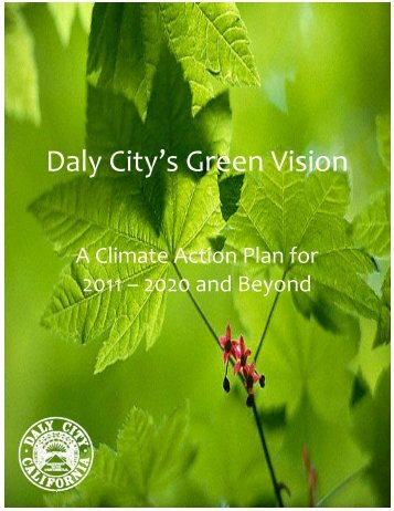 Daly City's Green Vision - City of Daly City