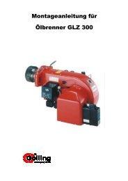 Montageanleitung GLZ 300 - GEO-Heizungstechnik GmbH
