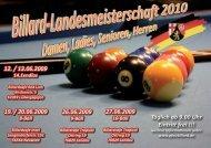 8-Ball - Billard Verband Rheinland-Pfalz