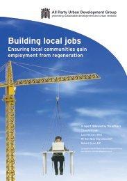 Building local jobs - British Property Federation