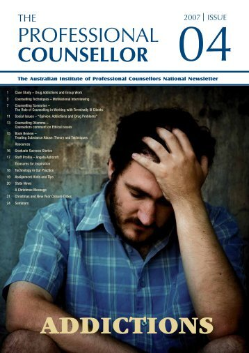Professional Counsellors - Mental Health Academy