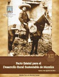 Pacto Estatal para el Desarrollo Rural Sustentable de Morelos