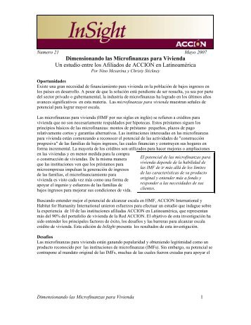 Applying Value Chain Finance in Rural Areas: The Case of El ...