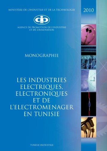 Industries Electriques, Electroniques et de l ... - Tunisie industrie