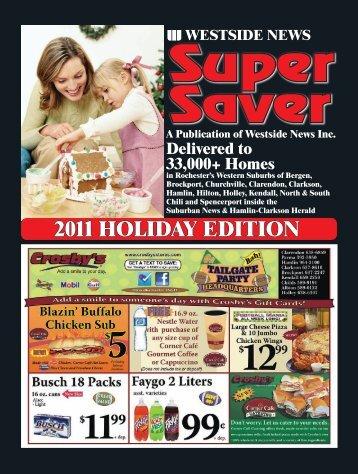 2011 HOLIDAY EDITION - Westside News Inc.