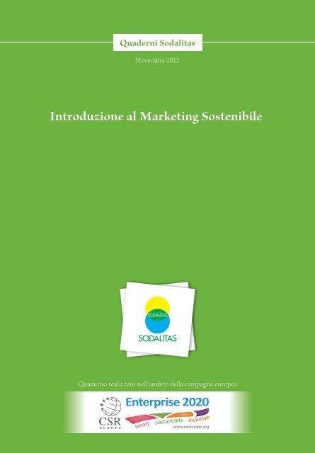 Introduzione al Marketing Sostenibile - Altran