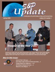 Trooper of the Year 2007 - International Association of Chiefs of Police