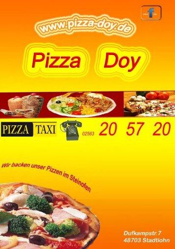 Pasta - Pizza Doy