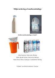 Miljøvurdering af mælkeemballage - Centre for Environmental Studies