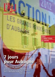 Télécharger l'AJJ 738 - Site officiel de la ville d'Aubagne en Provence