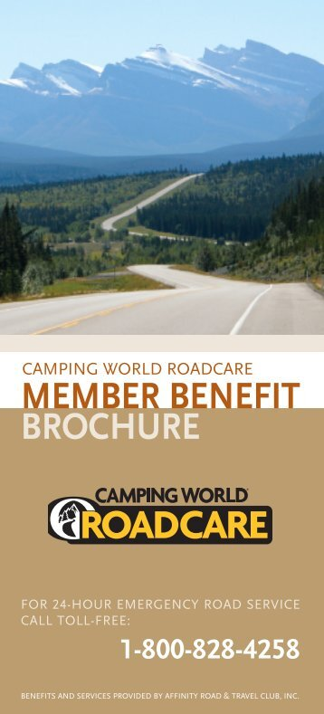 MEMBER BENEFIT BROCHURE - Camping World