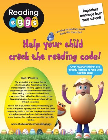 Reading Eggs Brochure - Wilmington Public Schools