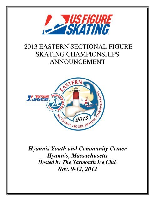 2013 eastern sectional figure skating championships announcement