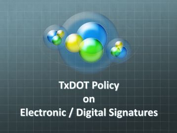 Electronic Approval / Digital Signatures