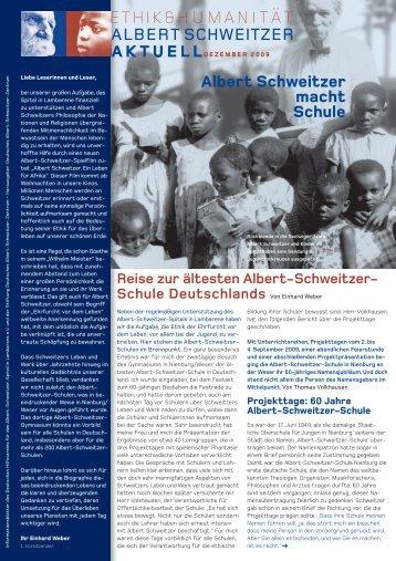 dasz asa 12 09 - Deutsches Albert-Schweitzer-Zentrum