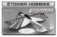 Download Instruction Manual - Tower Hobbies