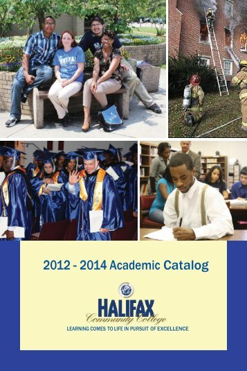 HCC 2012 catalog.indd - Halifax Community College