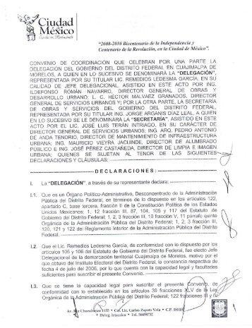 ' riJCiudad Mekico - Secretaria de Obras y Servicios - Gobierno del ...