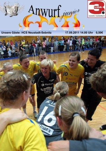 Unsere Gäste: HCS Neustadt-Sebnitz 17.09.2011 ... - HC Leipzig