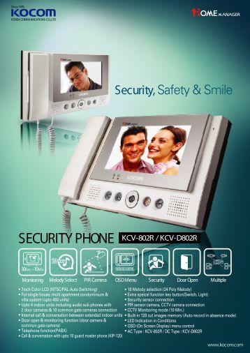 SECURITY PHONE - GTO Security Technologies