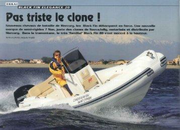 Pas triste le clone ! - Brunswick Marine
