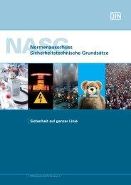 Normenausschuss Sicherheitstechnische Grundsätze - NASG - DIN ...