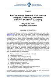 Detailed information and shedule - European Conference on ...
