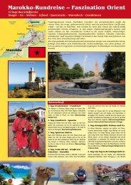 Marokko-Rundreise – Faszination Orient