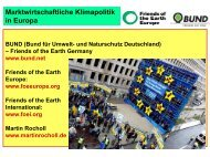 Marktwirtschaftliche Klimapolitik in Europa - Dr. Martin Rocholl