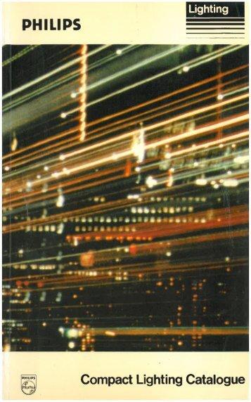 """Page 1 Lighting'""""»""""\§;'ï PH I LI PS ____ Compact Lighting Catalogue ..."""