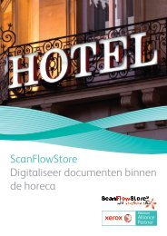 ScanFlowStore Digitaliseer documenten binnen de horeca