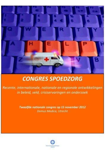 Brochure Congres Spoedzorg 2012.pdf - GGZ Nederland