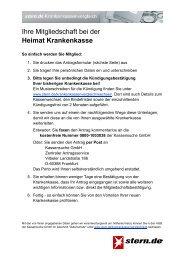Ihre Mitgliedschaft Bei Der Hek Hanseatische Krankenkassen