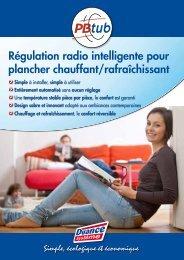 Régulation radio intelligente pour plancher ... - Plomberie pro