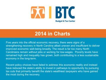 2014 End of Year Charts from Budget and Tax Center