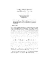 The Law of Large Numbers is a Π -Complete Property