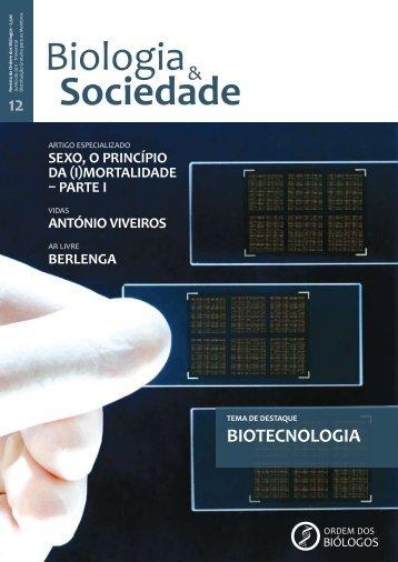 BiOteCNOLOGia - Ordem dos Biólogos